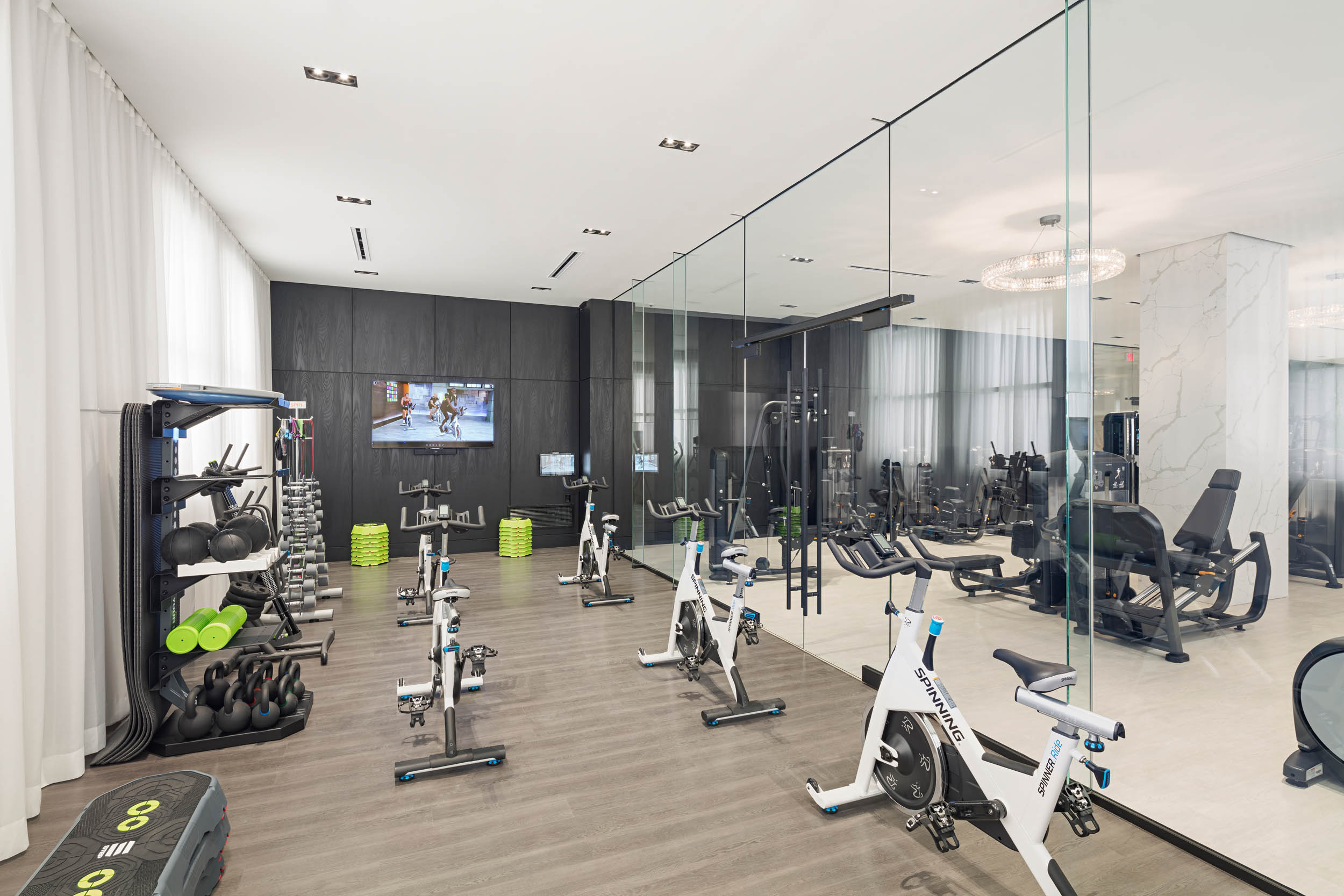 Fitness Center - Group Fitness Room