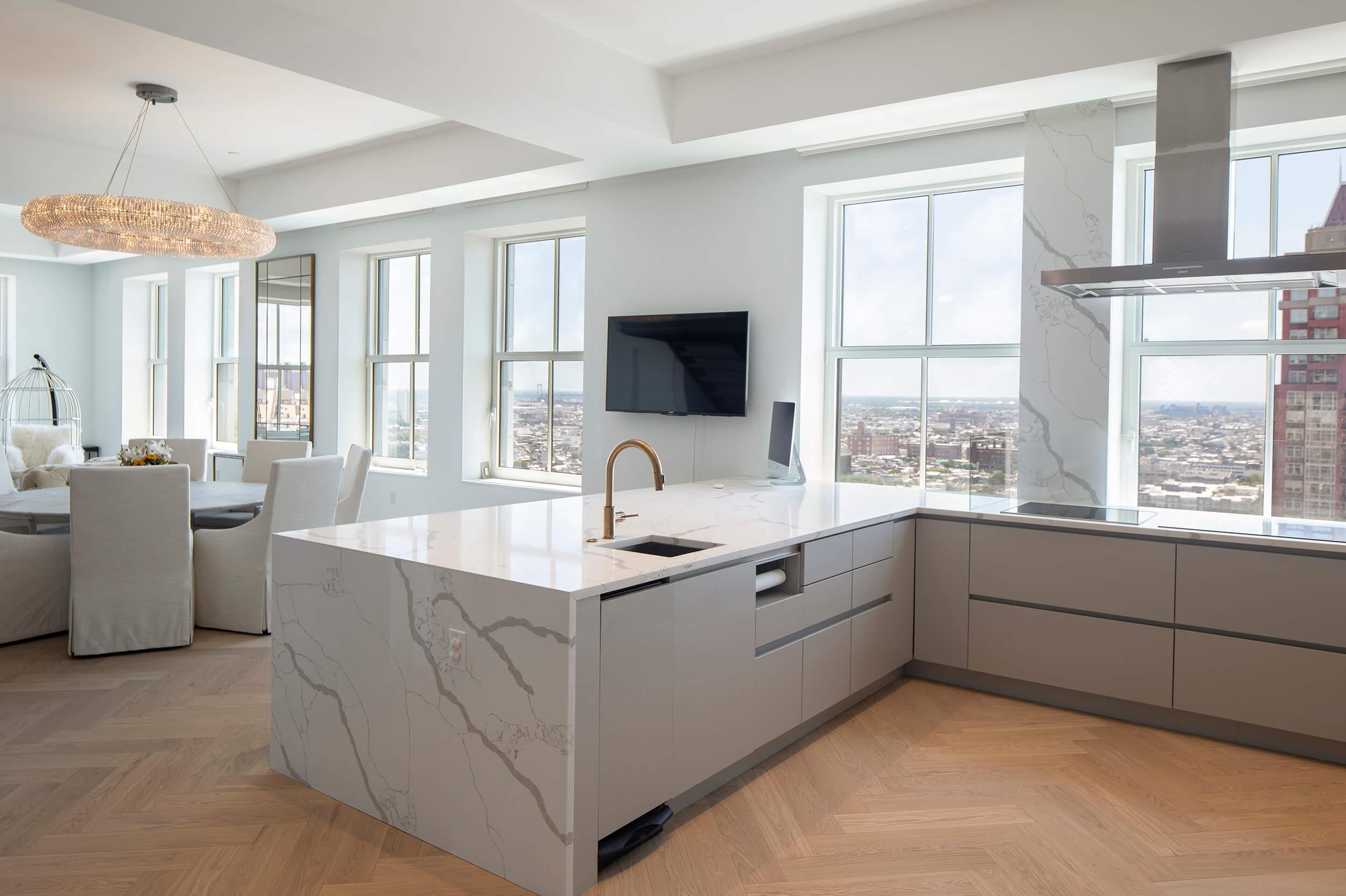 4BR Penthouse Kitchen