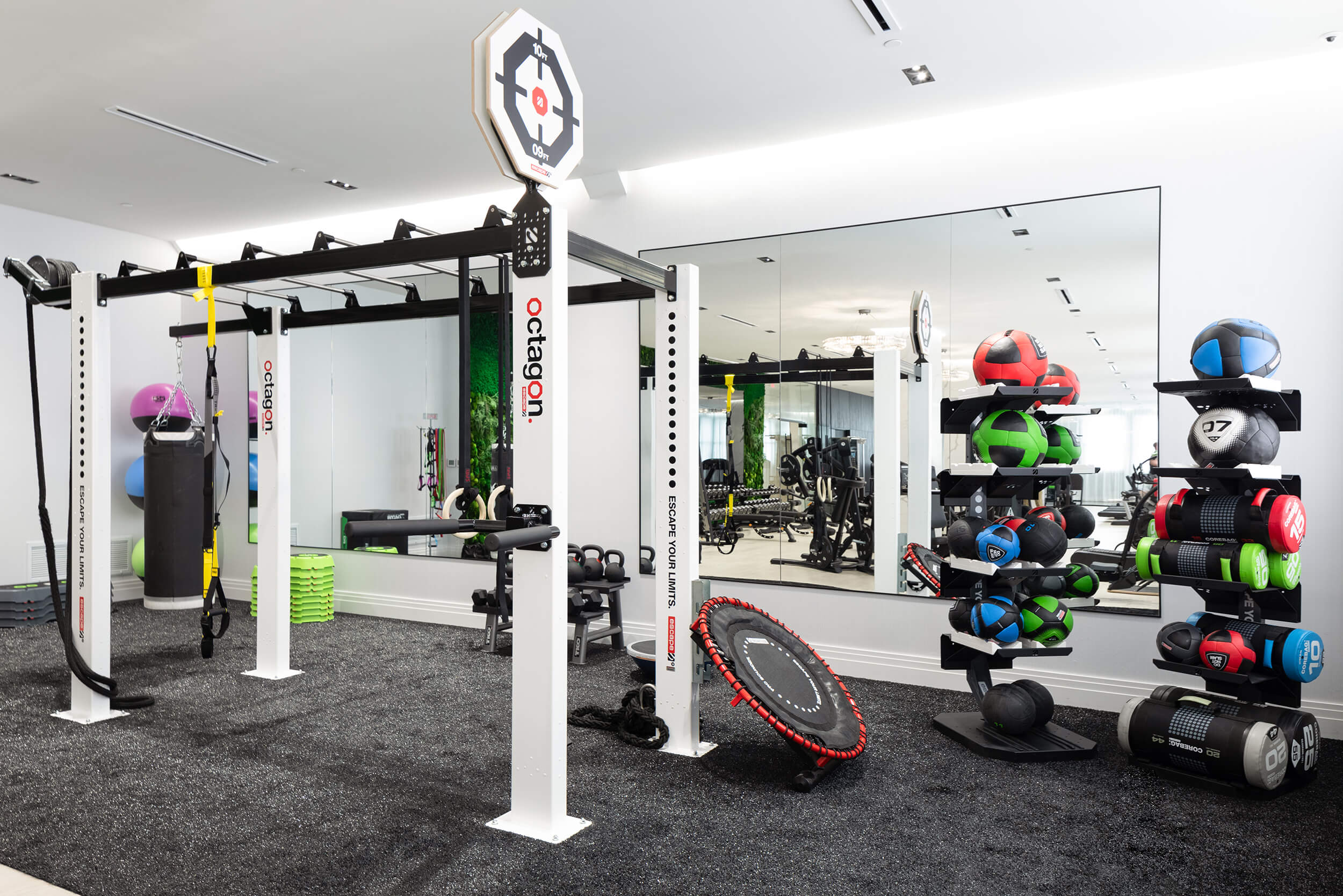 Fitness Center Functional Training